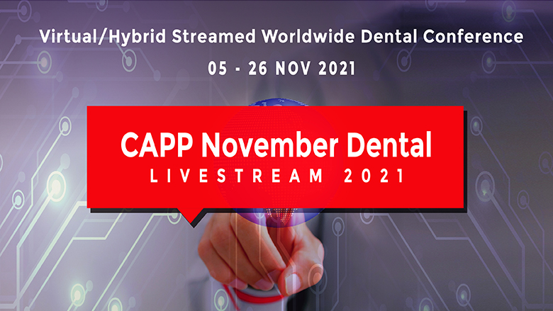 CAPP announces largest free virtual dental conference in November, expects 40,000 participants