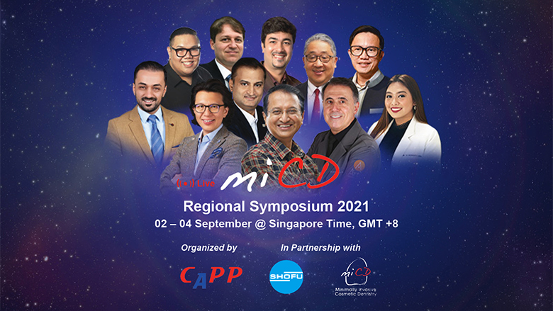 Over 6,300 dental professionals joined the first-ever virtual MiCD Regional Symposium 2021